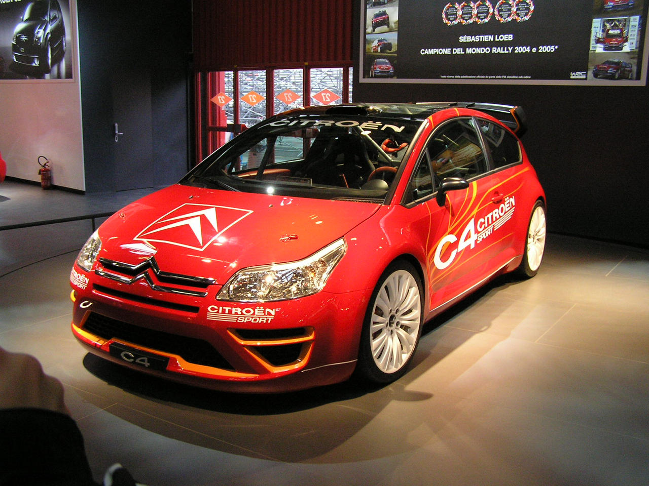 citroen c4 sport rally loeb by cmacsti. Black Bedroom Furniture Sets. Home Design Ideas