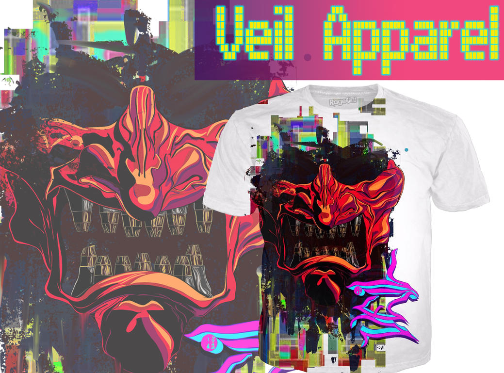 Veil Samurai shirt promo by Veil-Apparel
