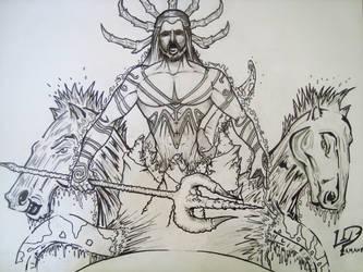 Poseidon by Pamanes14