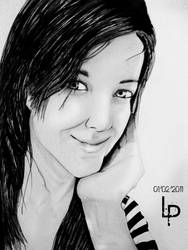 Portrait by Pamanes14
