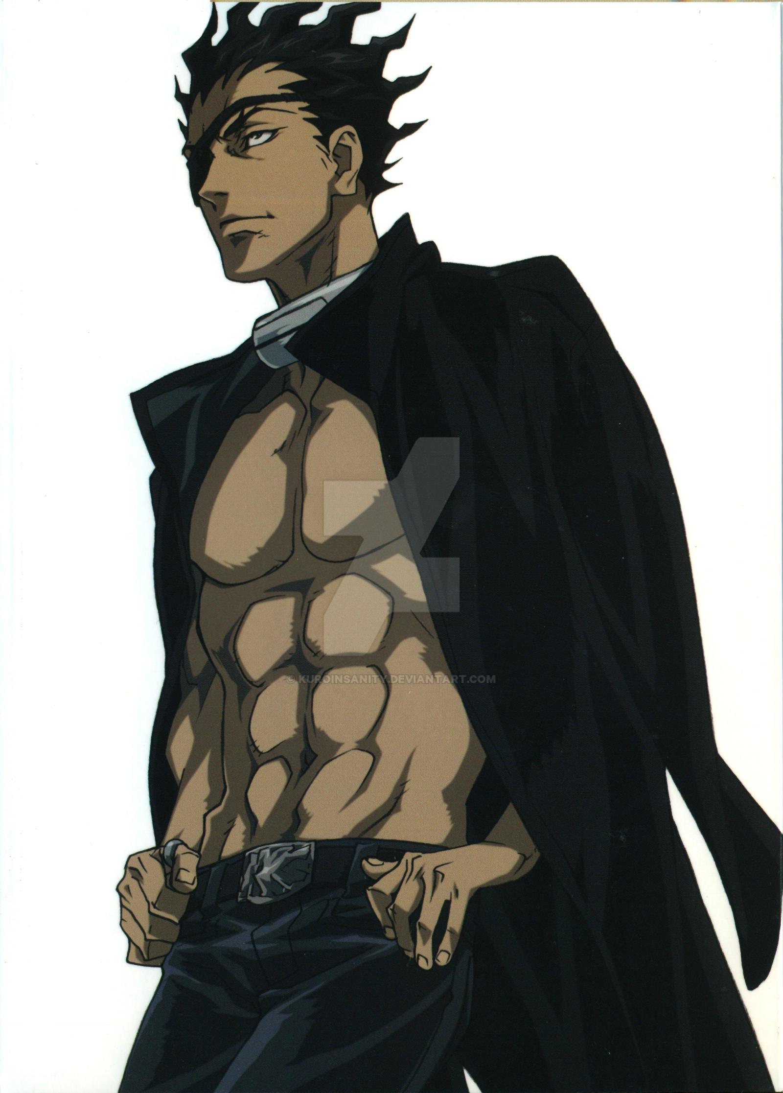 senji kiyomasa by kuroinsanity d788tub 15 Handsome Male Anime Characters with Tattoos