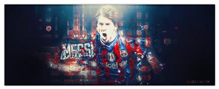 Messi - v2 by luizforever