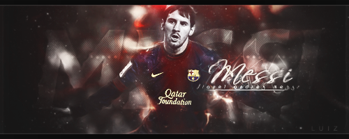 Messi by luizforever