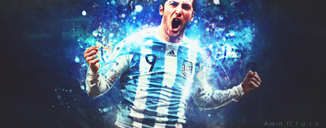Collab Gonzalo Higuain by luizforever