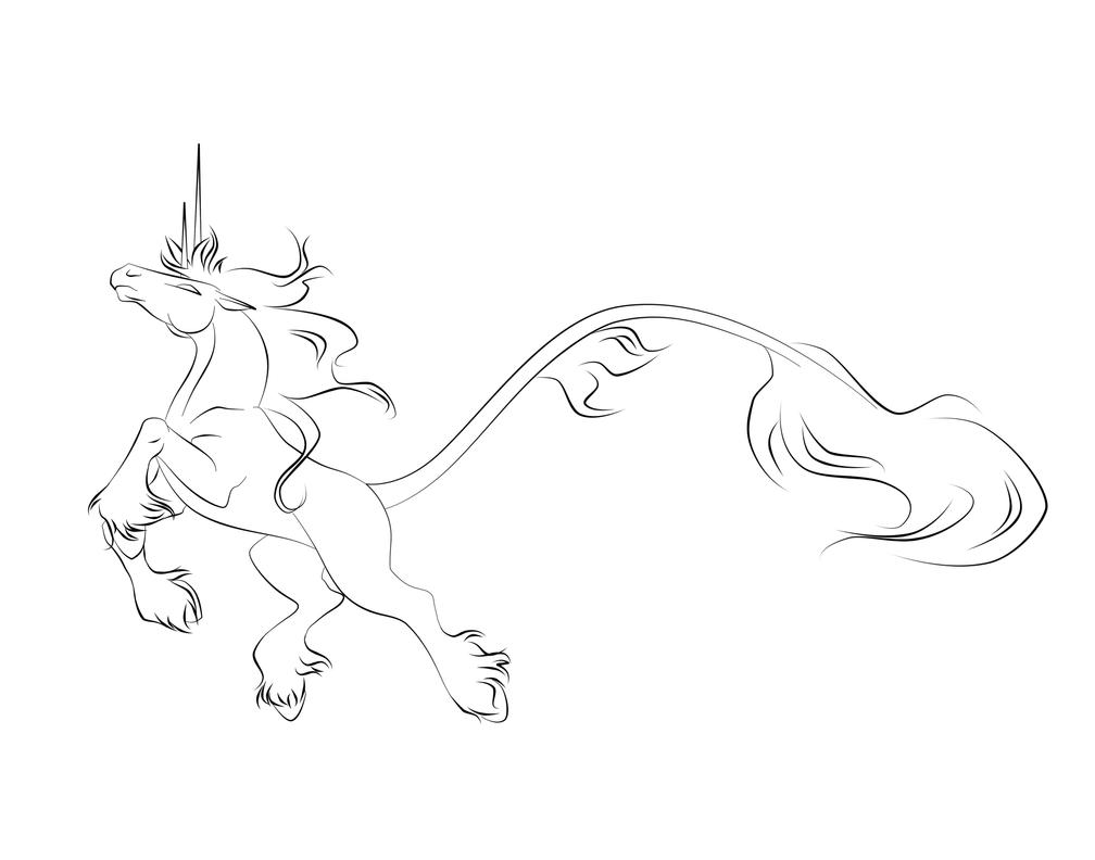 Line Drawing Raven : Raven line art by jennyleigh on deviantart