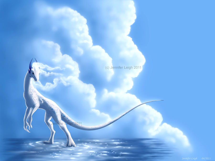 Cloud Dragon by jennyleigh