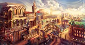 Steam Punk City