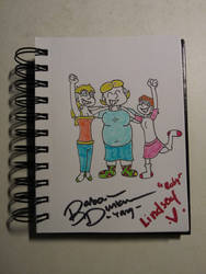 Family Time!!! (Autographed) by Cloudcuckooman