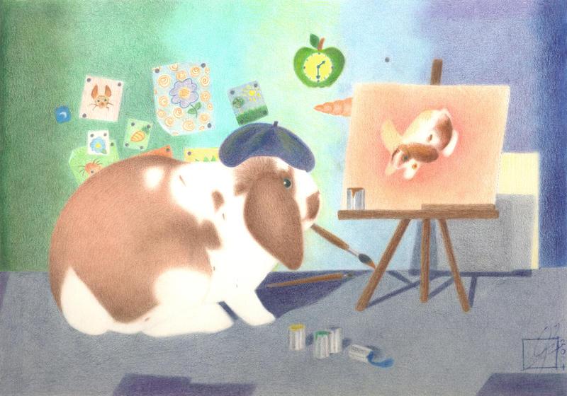 Bunny Artist by J-Juno