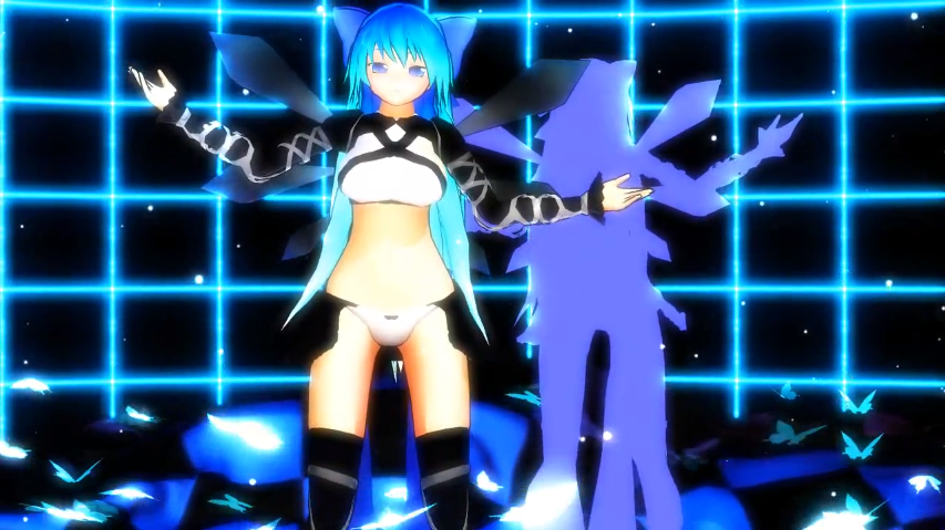 Mmd r18 cirno taking it from behind by a sex machine