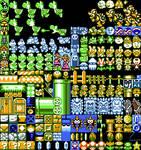 Sprites Mario NES by Terwilf