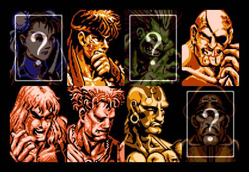 Street Fighter II NES - Players X (XBR 3x)