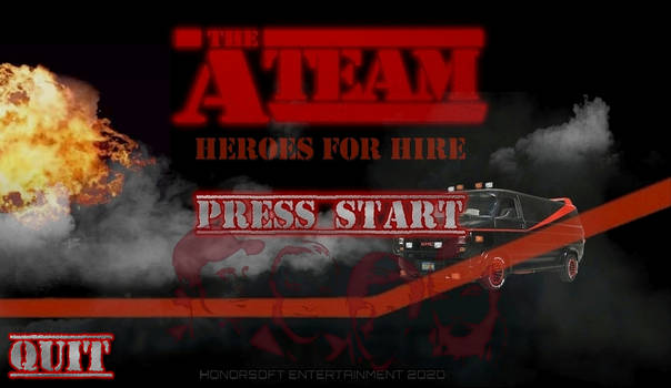 A-TEAM: Heroes For Hire - Title screen