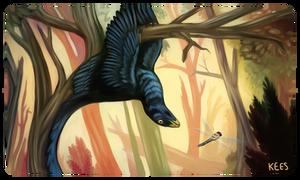 The Hanged Maniraptor
