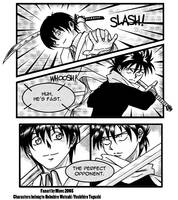 Crossover: Soujirou vs Hiei by MaveT
