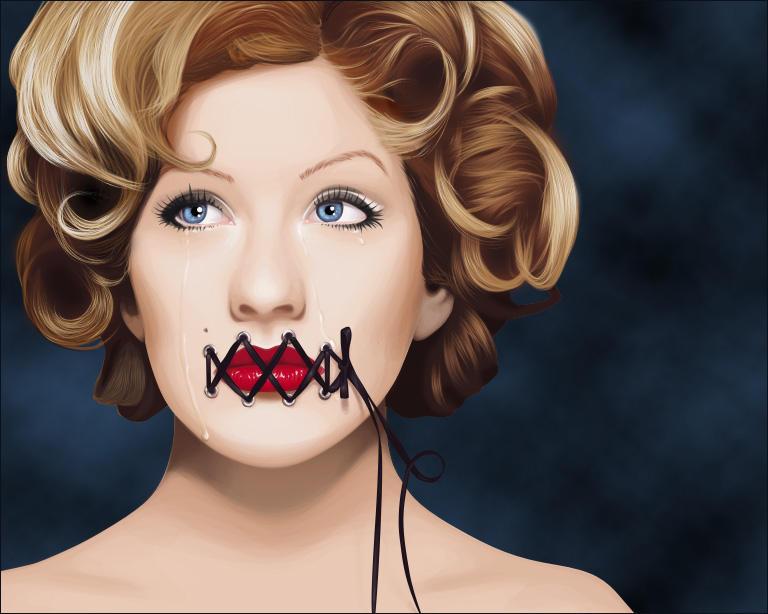 silence vexel illustration
