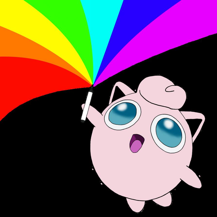 Jigglypuff has a permanent marker - Pokemon by Aerodrome2 ...