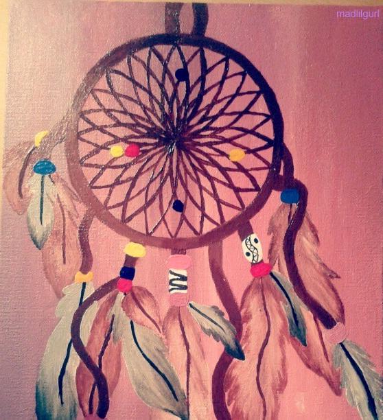 Colorful Dream Catcher Painting | www.pixshark.com ...