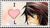 'I heart L' stamp by ringo-stamps