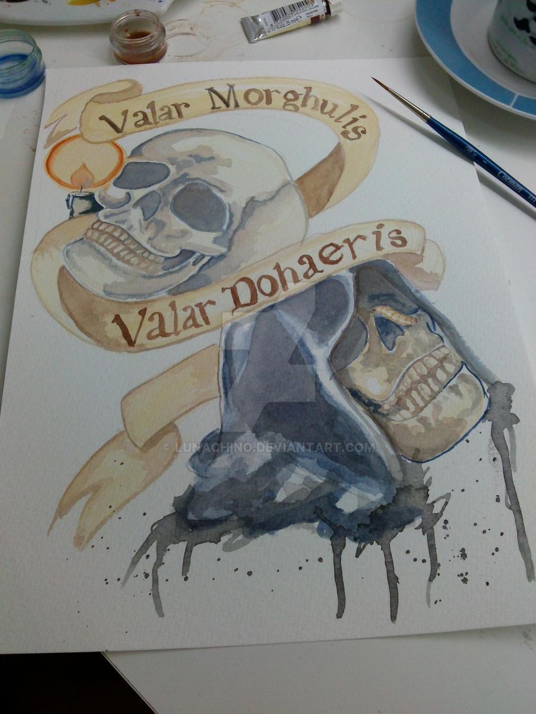 Valar Dohaeris  Wikipedia