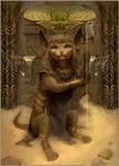 Egyptian Sphynx by Vihrushka