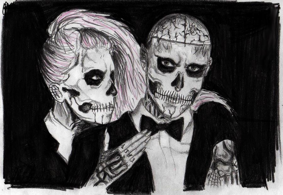 Zombie Boy and Lady GaGa  Born This Way Zombie Boy Lady Gaga