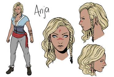 Concept Art: Anja