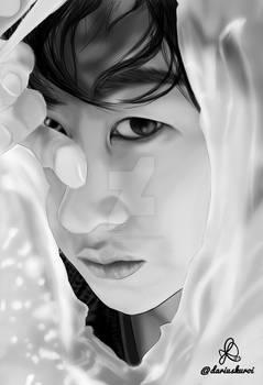 Black and white Timeless' Eunhyukee