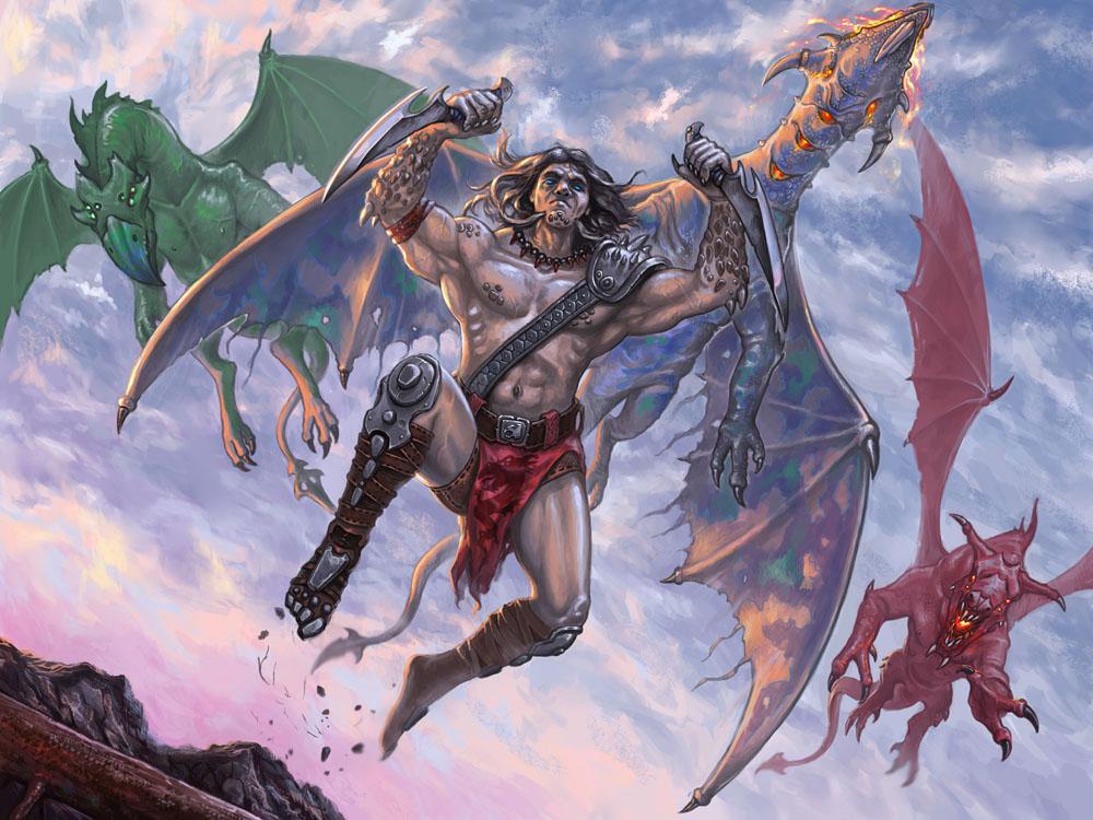 Dragon warrior by Dolgopolov