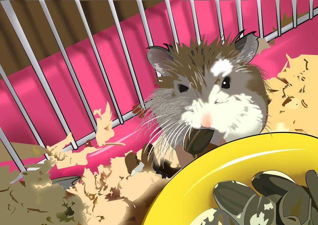 Hamster 1 by HimawariNana