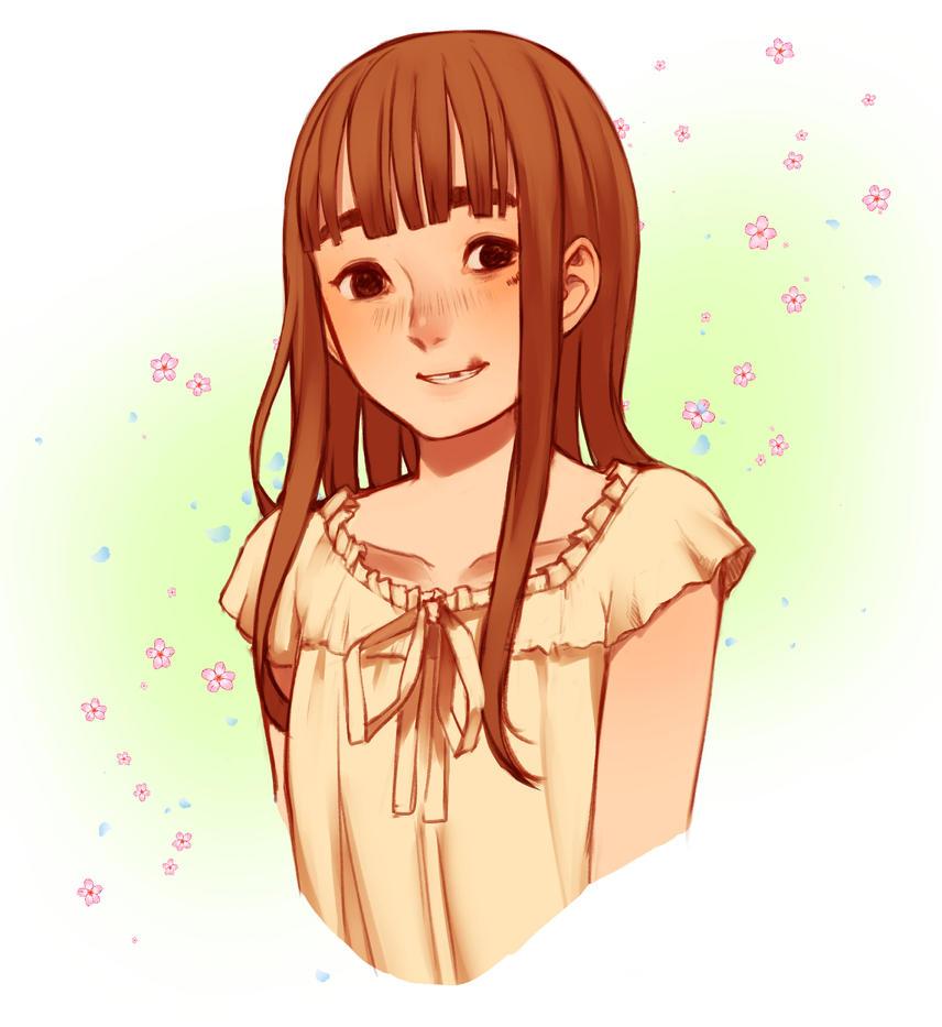 Aiko Oyasumi Punpun by HameSesame