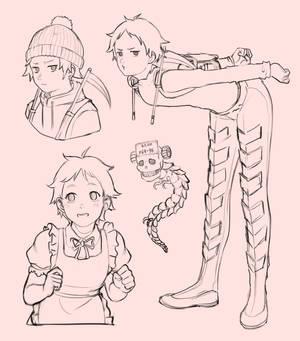 Ebisu sketches