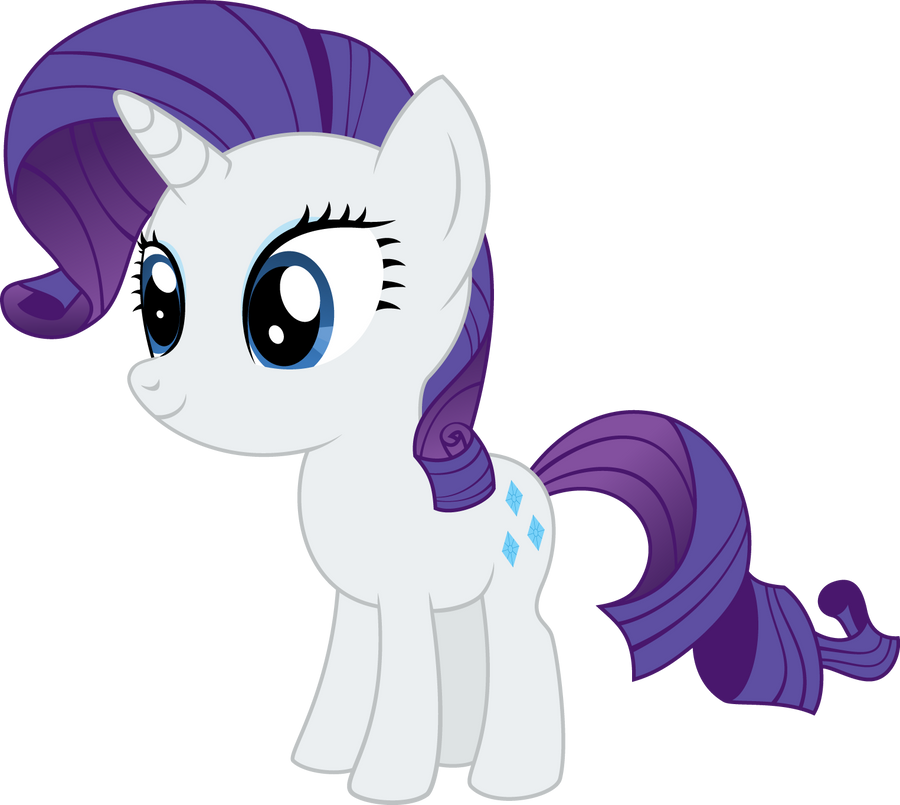 Pony Chibi Series: Rarity by ReyTiger on DeviantArt