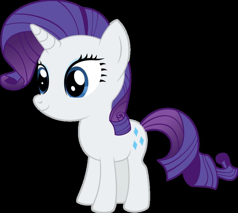 Pony Chibi Series: Rarity by ReyTiger on DeviantArt