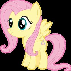 Pony Chibi Series: Fluttershy by ReyTiger