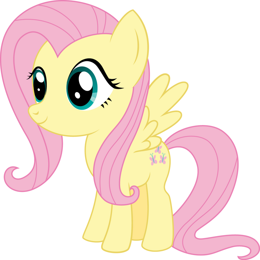 Pony Chibi Series: Fluttershy by ReyTiger on DeviantArt