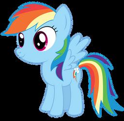 Pony Chibi Series: Dash by ReyTiger