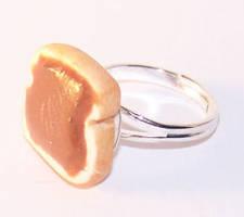 Peanut Butter Sandwich Ring by PookieTookieJewelry