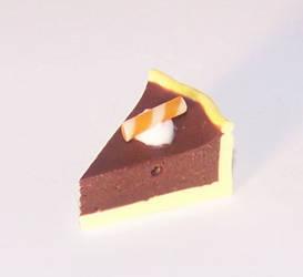 Chocolate orange pie by PookieTookieJewelry
