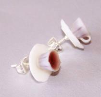 Cup of Tea Earrings by PookieTookieJewelry