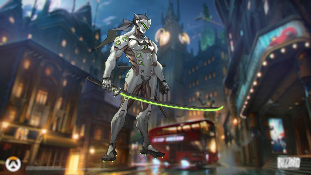 Genji Overwatch Wallpaper By TISNL On DeviantArt