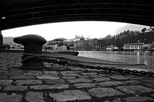 Prague waterfront by tomsumartin