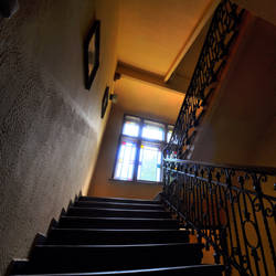 Way up the stairs by tomsumartin