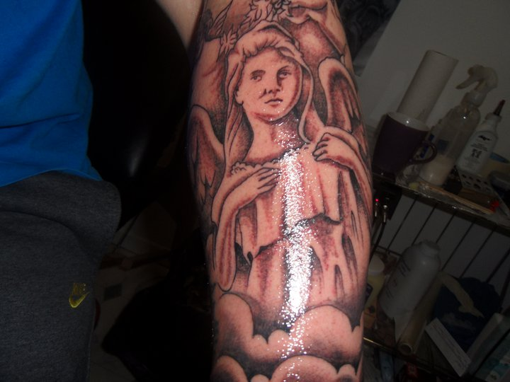 religious sleeve started