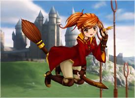 ::HP:: Ginny Weasley by circe-nausicca