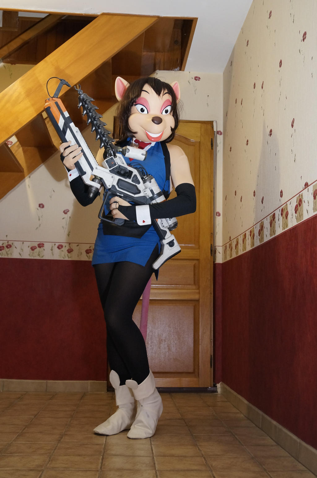 Cosplay hyper police hentai