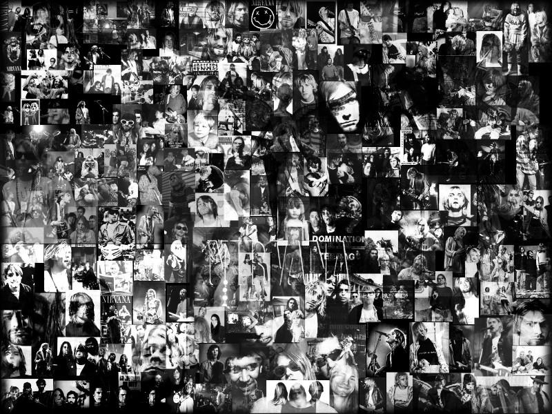 Nirvana Collage By RobeRecio