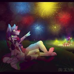 Fourth of July by TOPAZxWOLF