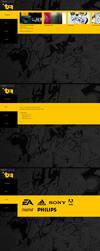 Portfolio Layout by Tropfich