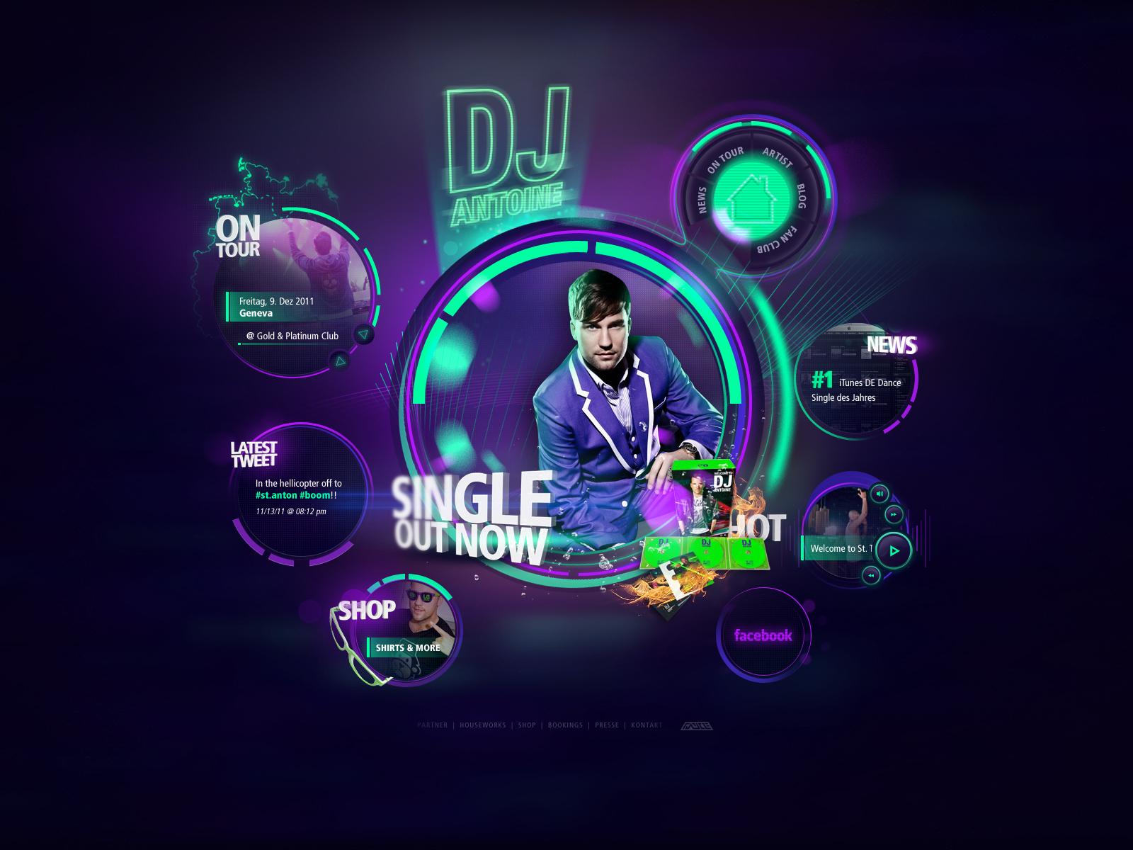 DJ Antoine Re-Design For Sale by Tropfich on DeviantArt